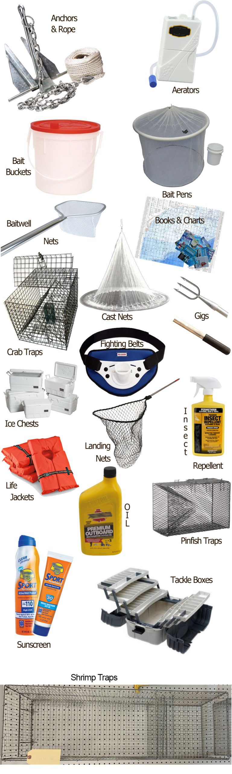 Accessories at Bucktail Bait & Tackle